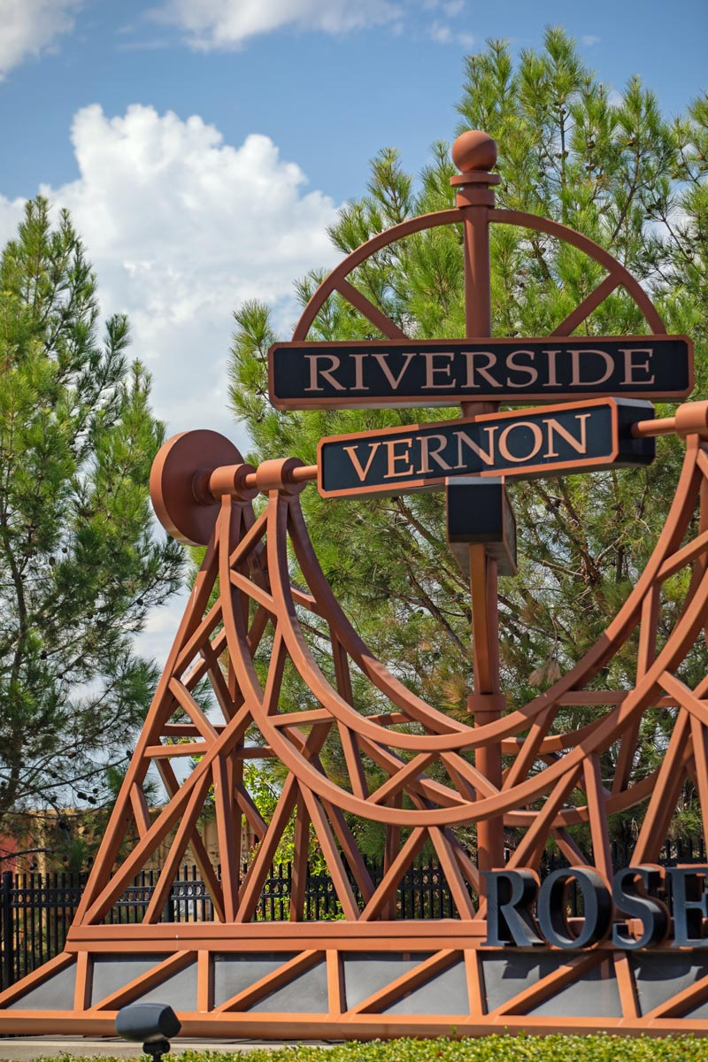 Riverside Avenue and Vernon Street Streetscapes in Historic Old Town Roseville