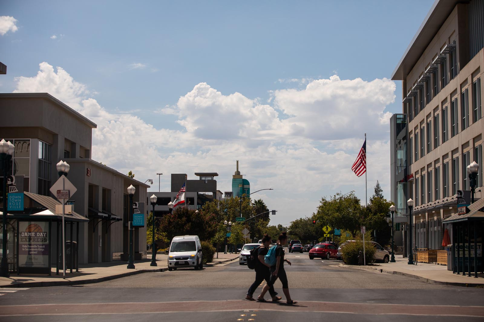 View of Downtown Roseville